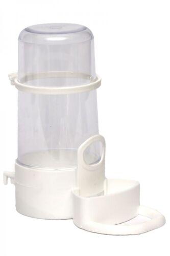 Bird  Silo Feeder Pet Parrot Hamster Automatic Drinker Water Dispenser 16 oz