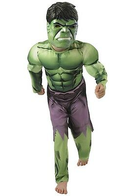 ★ Incredible ,Unglaubliche Hulk Monster Avenger HeldKostüm 122-128 Kinder Rubies