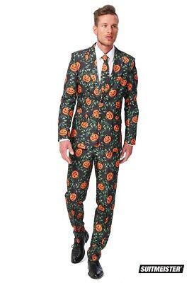 Pumpkin Kürbis Halloween Anzug Suitmeister Slimline Economy 3-teilig