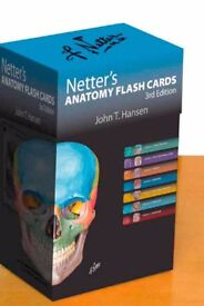 Netter's Anatomy Flash Cards, 3rd edition