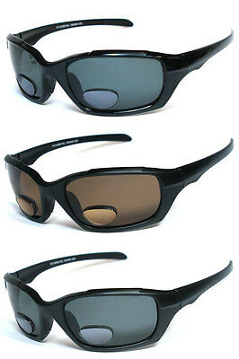 Polarized Bifocal Vision Spring Temple Reading Sun Glasses RG13 - +1.00 to +4.00 ()