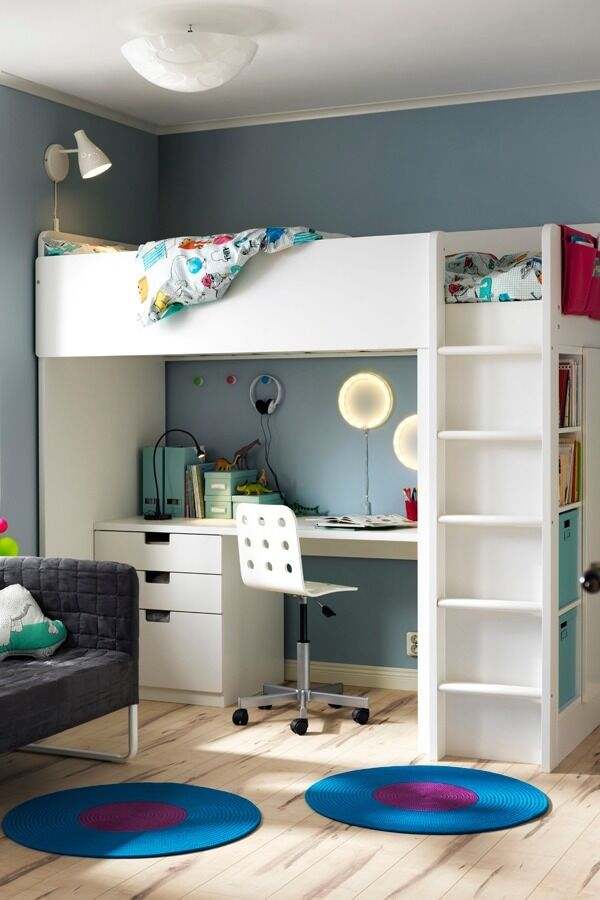 ikea stuva bunk bed with desk | in East End, Glasgow | Gumtree