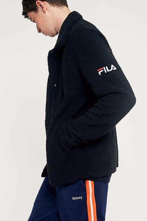 abab0076cb80 FILA Palmer Sherpa Coach Jacket(L) | in Streatham Hill, London ...