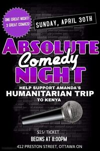 Absolute Comedy Kenya Fundraiser