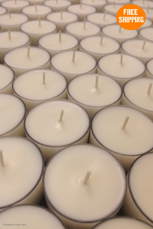 soy tealight candles unscented... Image 0
