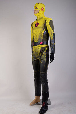 Cheap Cosplay Outfits (The Reverse-Flash Professor Zoom Eobard Thawne Cosplay Costume Uniform)