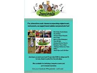 The Jaminals music classes