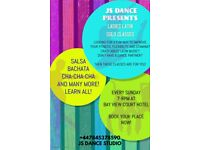 NEW LATIN DANCE CLASSES FOR LADIES
