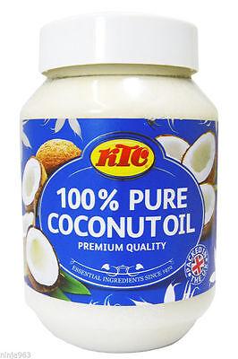 Ktc 100% Puro Aceite Coco - Comestible,Cocina,Hidratante Cabello y Piel - 500ml