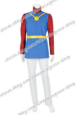The Little Mermaid 1 Prince William Cosplay Costume Uniform Halloween - Prince William Halloween Costume