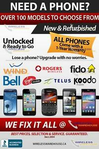 WIRELESS WAREHOUSE - Large selection of unlocked phones
