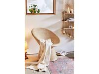 BRAND NEW Urban Outfitters Pierce Wicker Chair - Vintage Retro Boho Look