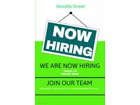Experienced delivery driver needed for busy Noodle Street