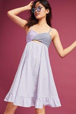 (Blake Yarn-Dyed Dress Size L By Petersyn NWT Rare! $343)