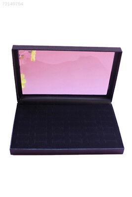 5b2c 36 Slots Black Velvet Rings Jewelry Storage Display Case Holder Organizer