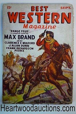 Best Western Sep 1935 Vol 1  1 Hopalong Cassidy  Max Brand