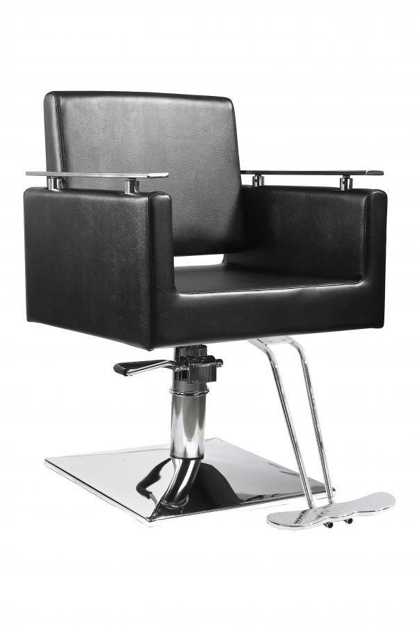 BestSalon Black Modern Hydraulic Barber Chair Styling Sal...