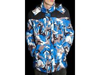Blue Puffer Camo Jacket 1.0