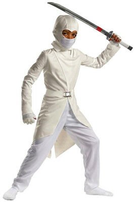 Hasbro Boys G.I Joe Storm Shadow Deluxe  Halloween Costume size 4-6X - Storm Shadow Halloween Costume