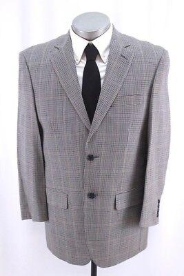 Grau Sport Coat Blazer (Neu Herren Grau Mikro Hundezahn Pendleton Blazer Jacke Sportanzug COAT 40 S)