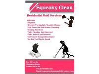 Squeaky Clean Residential Maid Services
