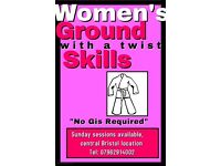 Women's self defence ground skills class