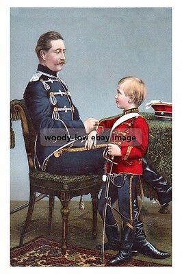 mm944 - German Kaiser Wilhelm II & Crown Prince - Royalty photo 6x4