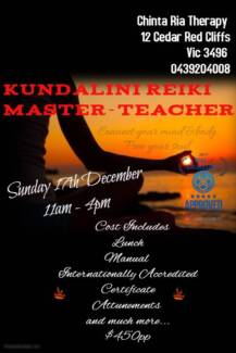 Kundalini Reiki Master - Teacher