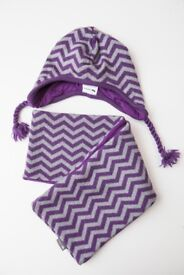 NEW Lasticot Hat and Collar Scarf (5-6yrs) ORGANIC