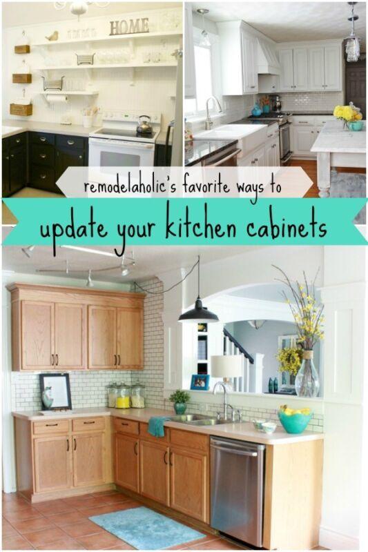 5 Ways To Update Kitchen Cabinets Ebay