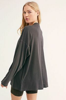 FREE PEOPLE We The Free Black BE FREE TUNIC Top NWT various sz Oversized Slouchy