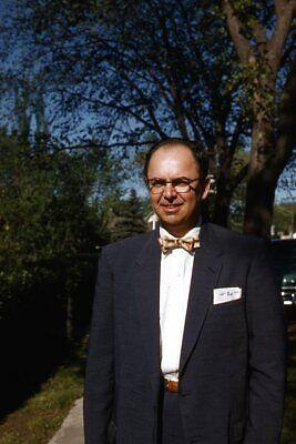 1950s Mens Suits & Sport Coats   50s Suits & Blazers Kodak 35mm Slide 1950s Red Border Kodachrome Man in Suit Bowtie $21.99 AT vintagedancer.com