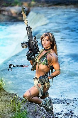 2017 Tactical Girl Calendars  Several Months Signed