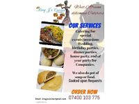 Private or Personal Nigerian Cook available for Hire (from King J's Cuisine). Wedding, Party Caterer