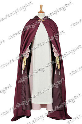 Once Upon A Time Season 3 Maid Marian Cosplay Costume Dress Red Cloak Halloween ](Once Upon A Time Red Halloween Costume)