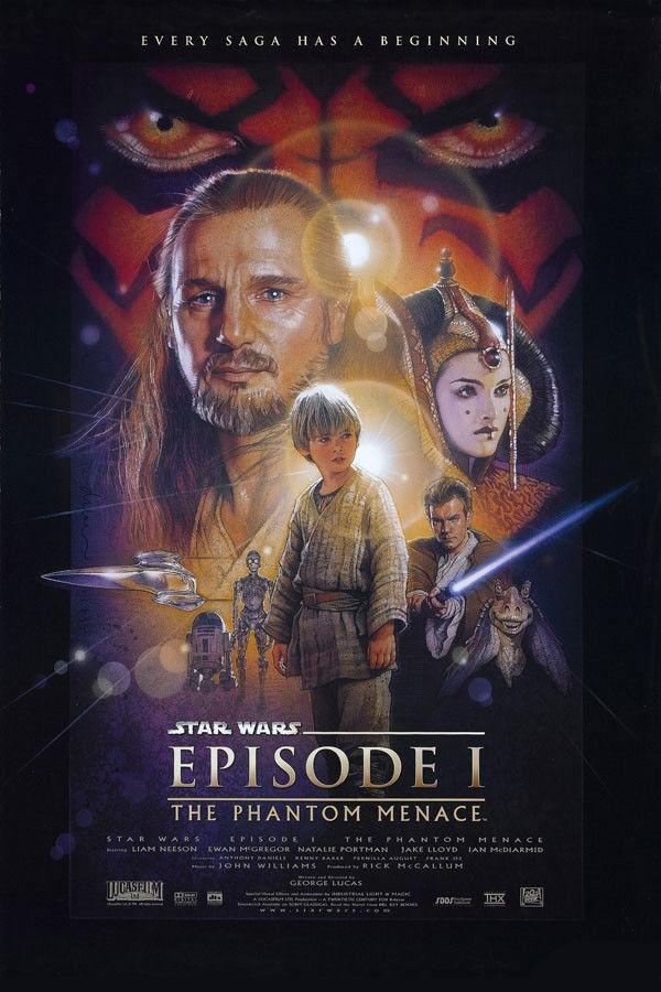 N-2171 Star Wars Episode I - The Phantom Menace Classic Movie Fabric POSTER 36