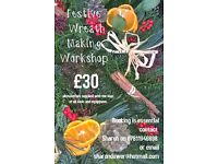 Festive Wreath Making Classes - Gorseinon and Mumbles