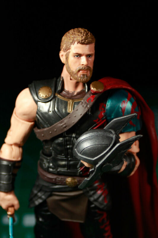 Custom Resin Helmet Cast for 1:12 scale RAGNAROK figure LEGENDS ODINSON THOR
