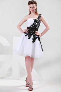 UK CHEAP~Appique Prom Ball Gown Bridesmaid Party Cocktail Formal Evening Dresses