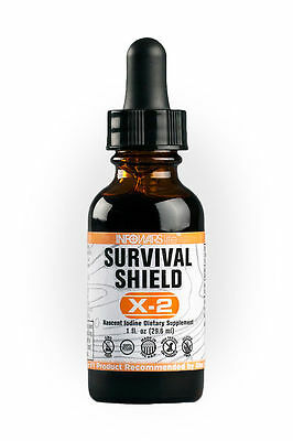 Infowars Life Survival Shield X 2 Nascent Iodine