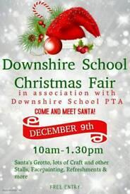 Downshire School Christmas fair