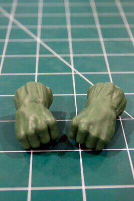 Custom Resin Gamma Fists for 6in. scale figure 1:12 Legends