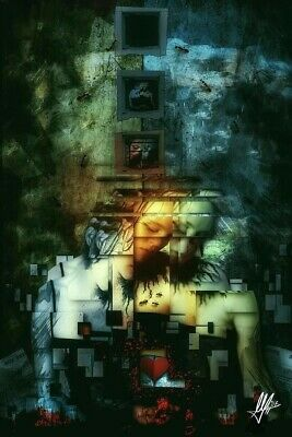 """""""Divided"""" by Mario Sanchez Nevado- Giclee on canvas 26"""" x 40"""""""