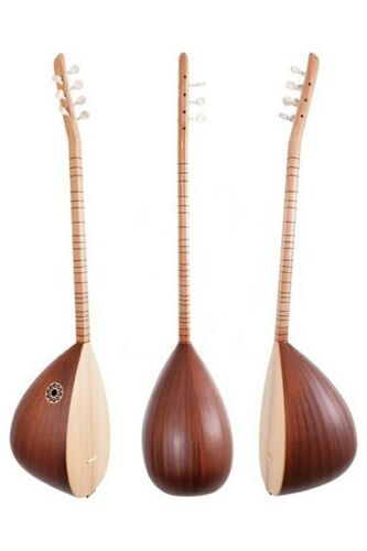 Turkish Premium Quality Short Neck Handmade Hornbeam Baglama Saz