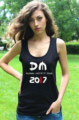 DEPECHE MODE GLOBAL SPIRIT TOUR 2017 damen tank top lady T-shirt Shirt Rock Tee