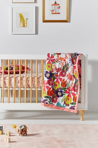 NWT Anthropologie Isabelle Toddler Quilt and Sham