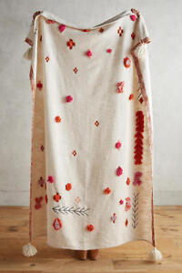 NWT Anthropologie Heradia Throw Blanket $128