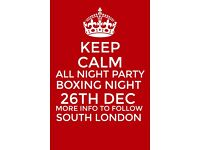 Warehouse Party Boxing Night