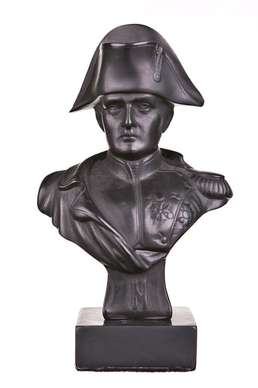 French Emperor Napoleon Bonaparte Stone Bust / Statue 5.3