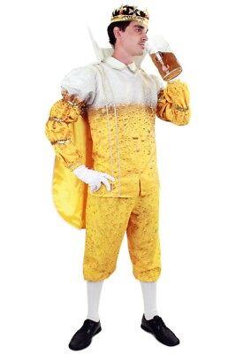 Bier Prinz Karneval Herren Kostüm Karnevalsprinz JGA Party König - Lustiges Party Kostüm